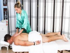 Lia Satisfies Josh Rivers With Woman's Touch Erotic Massage