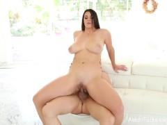 Alison Tyler takes on Bruce Venture's big cock