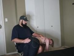 10 Minutes 4K 60FPS Ultra HD Dad Spanks His Son - Dad Son Porn - Father Son