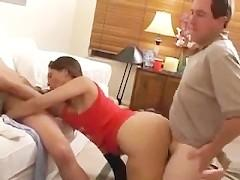 A Cheating Wife Fucks Many Friends While Husband is away
