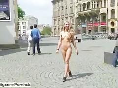 Spectacular Public Nudity With Horny Celine aka Evi C.