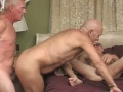 Grandpa Fuck Threesome