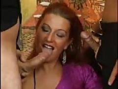 Double fuck for a German redhead